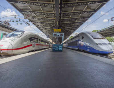 Deutsche Bahn and SNCF Sign Digitalisation Cooperation Agreement