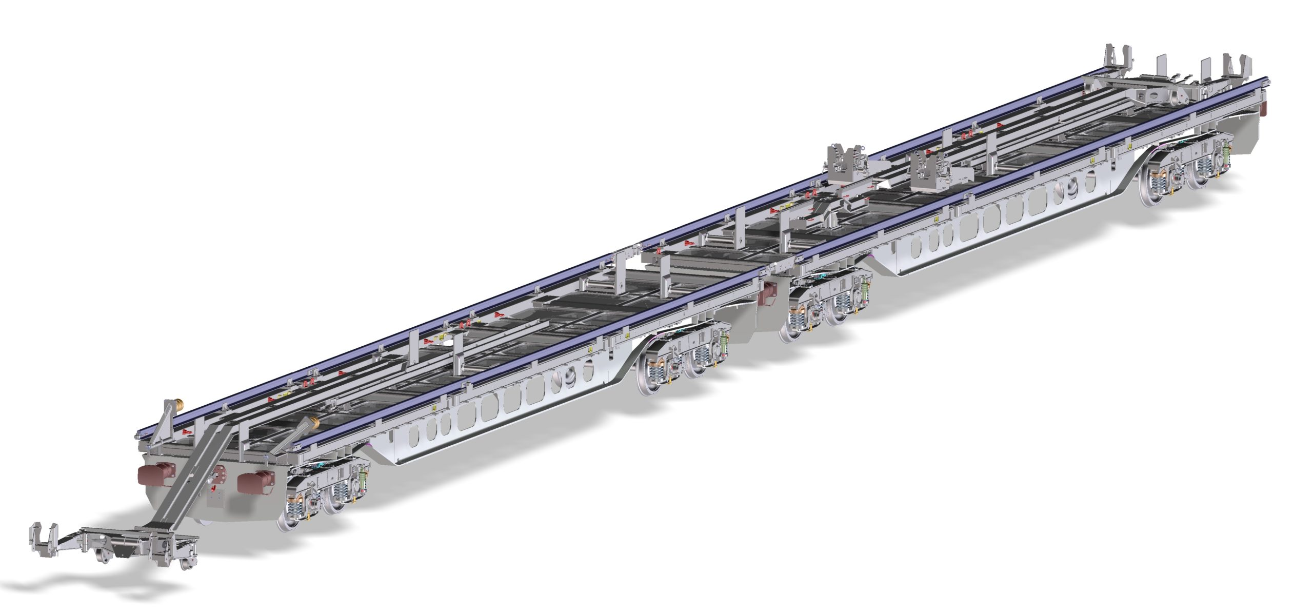 Robel fully-automated satellite rail chute