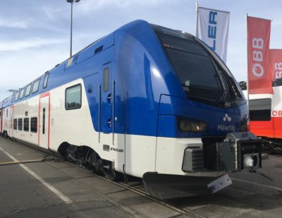 Stadler's Annual Results: 444 Vehicles Delivered in 2019