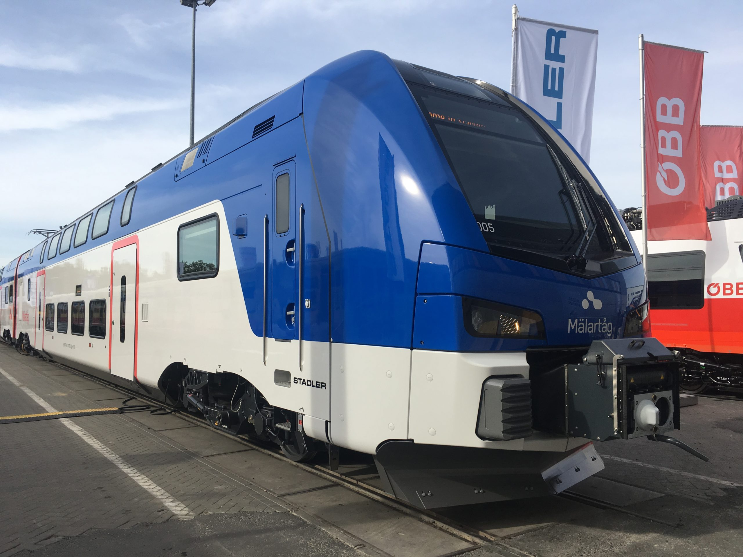 Stadler's double-decker for Sweden