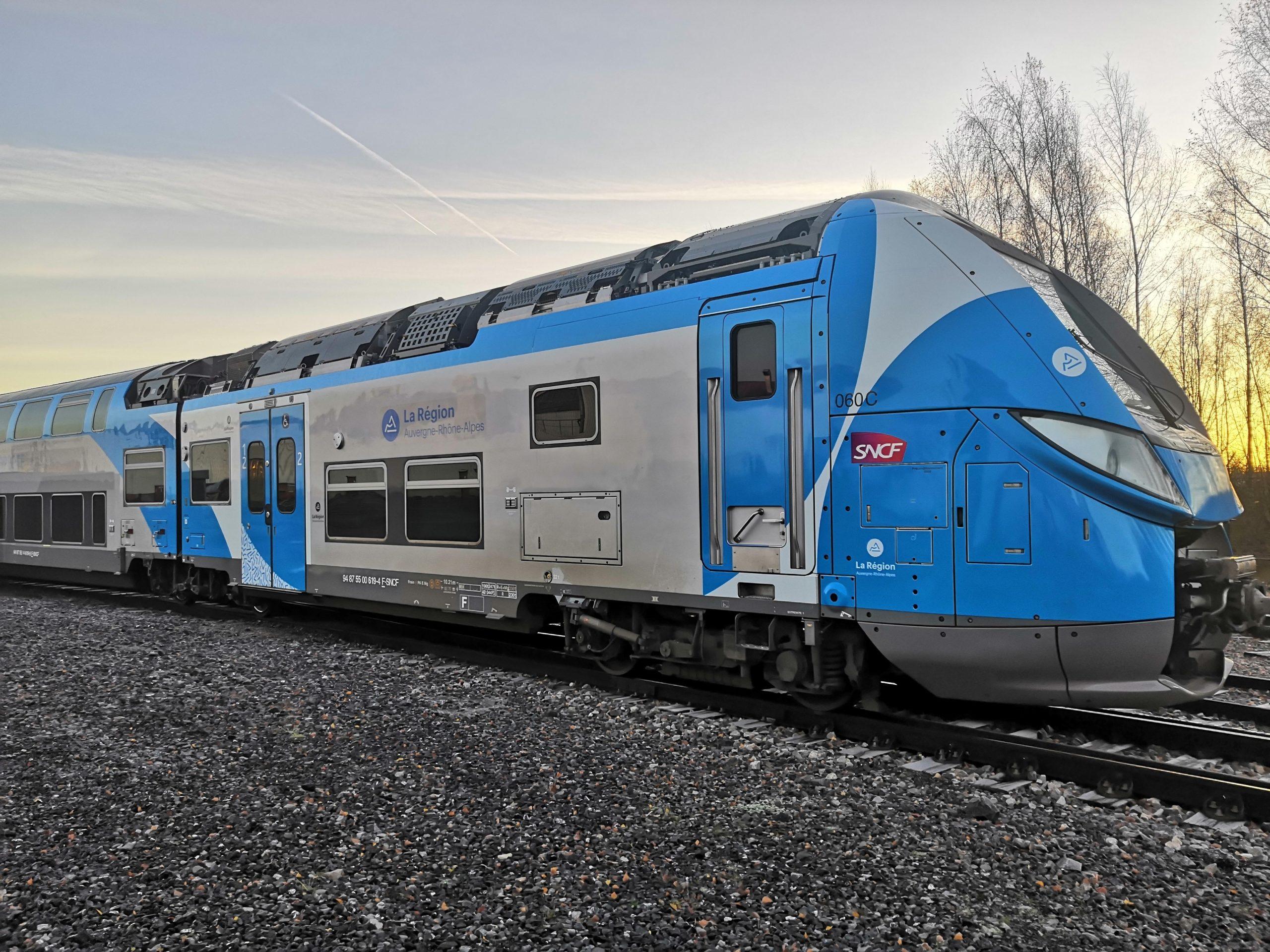 Bombardier Regio 2N train for Auvergne-Rhone-Alpes