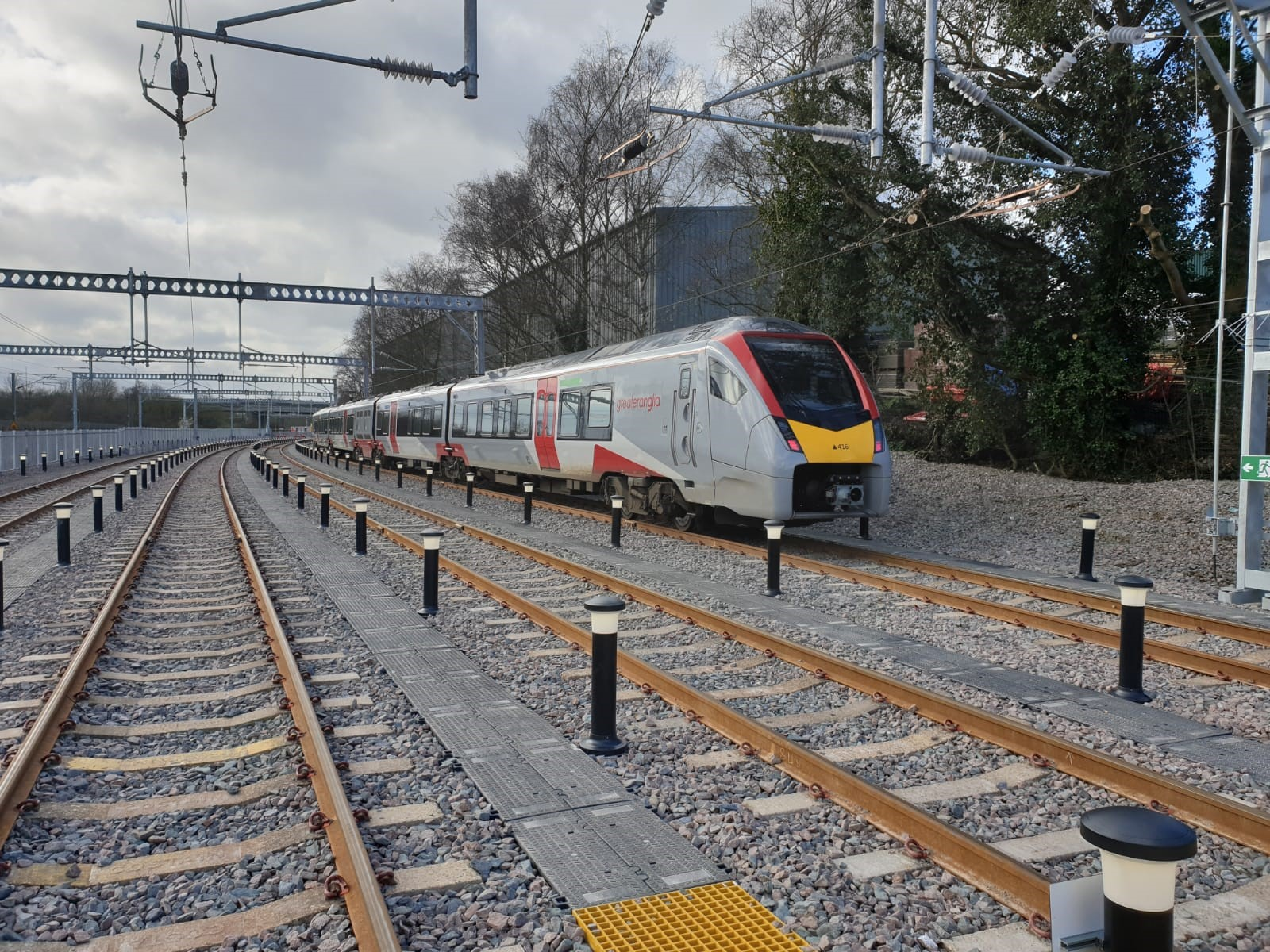 Greater Anglia new sidings Norwich