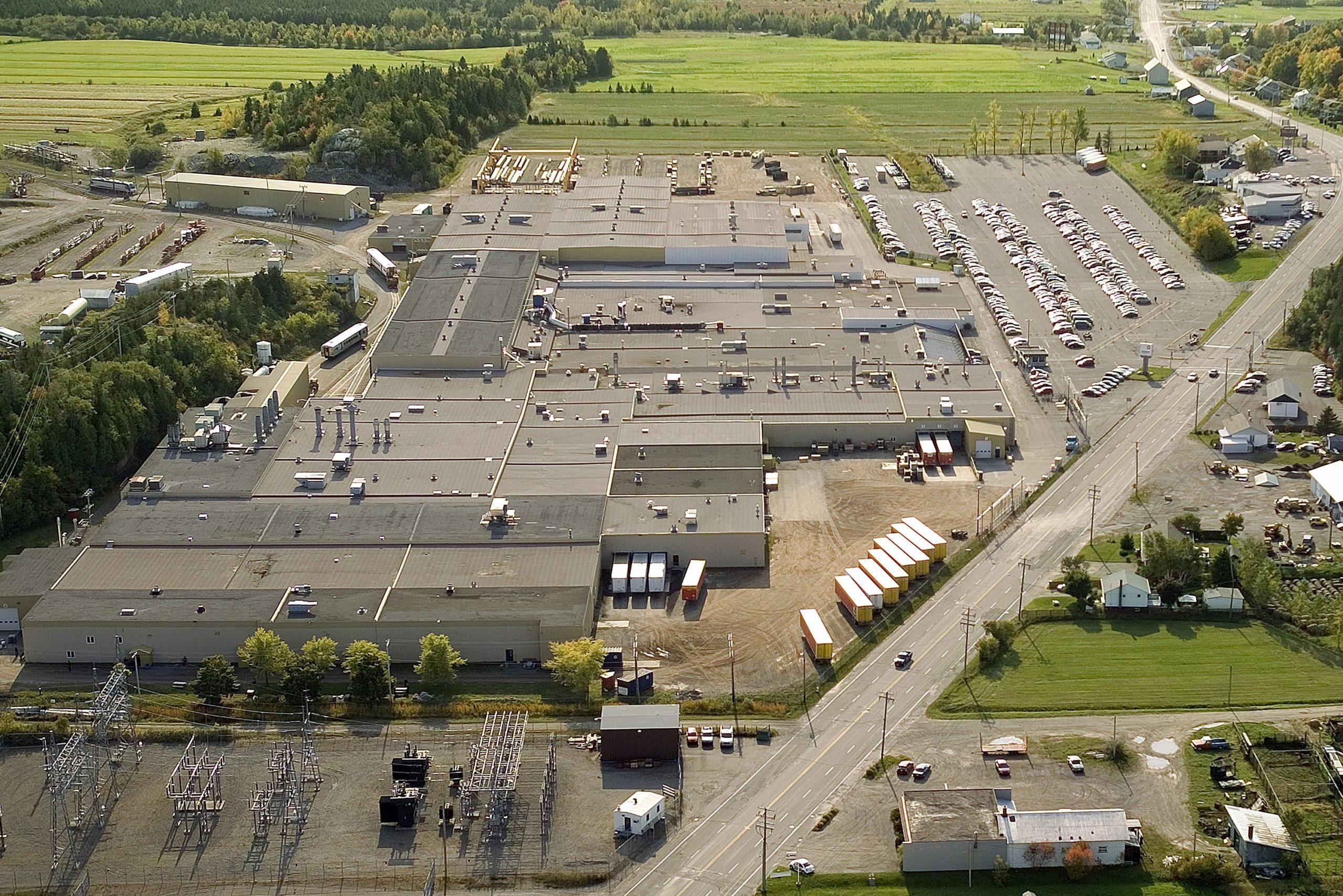 Bombardier rail vehicle production site la pocatiere