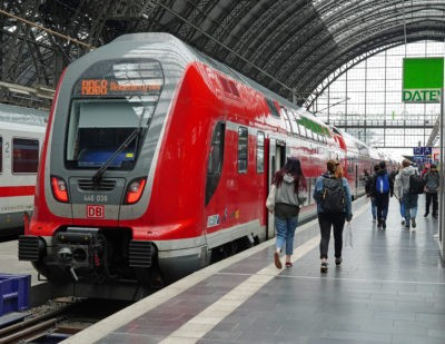 More Regional Rail Services as Germany Loosens Coronavirus Restrictions