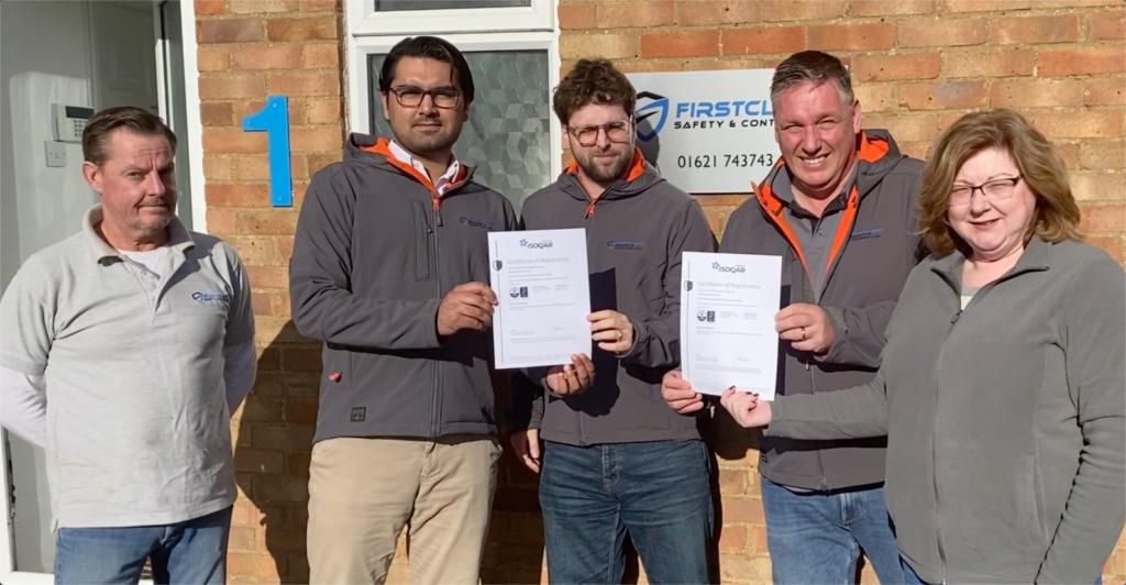 FirstClass Safety Double Accreditation Award