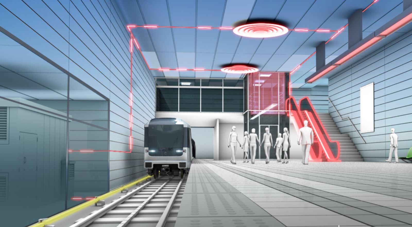 Alstom's Hesop system at a station