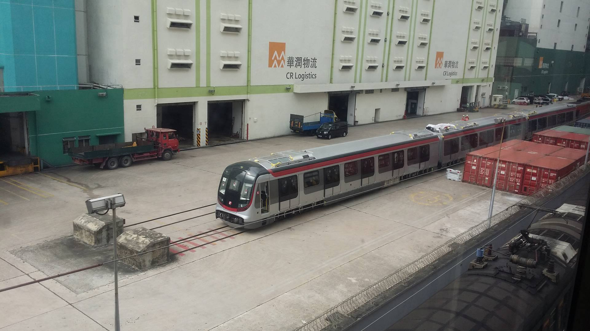New Hyundai Rotem R-Train for MTR East Rail Line