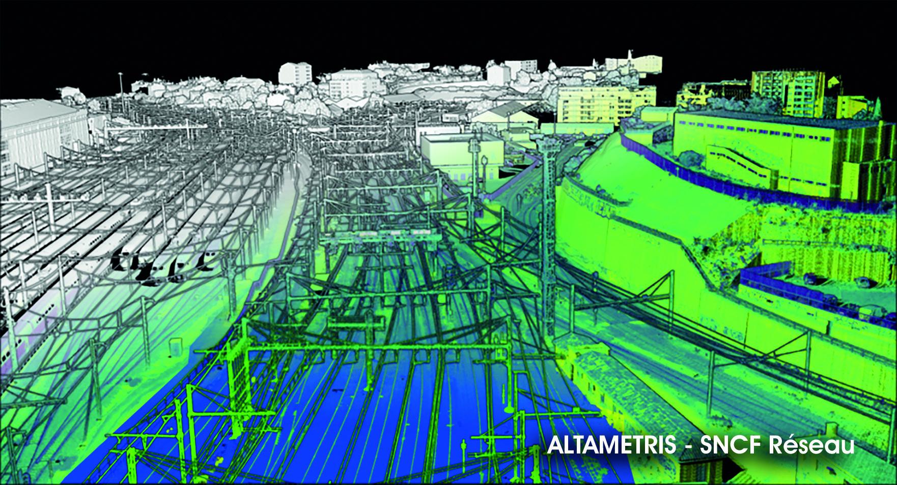 VMX-RAIL Scan Data, Altametris, SNCF Réseau