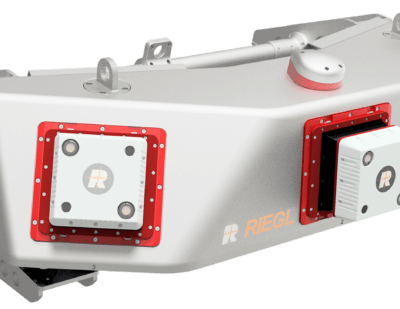 RIEGL VMX RAIL Mobile Mapping System