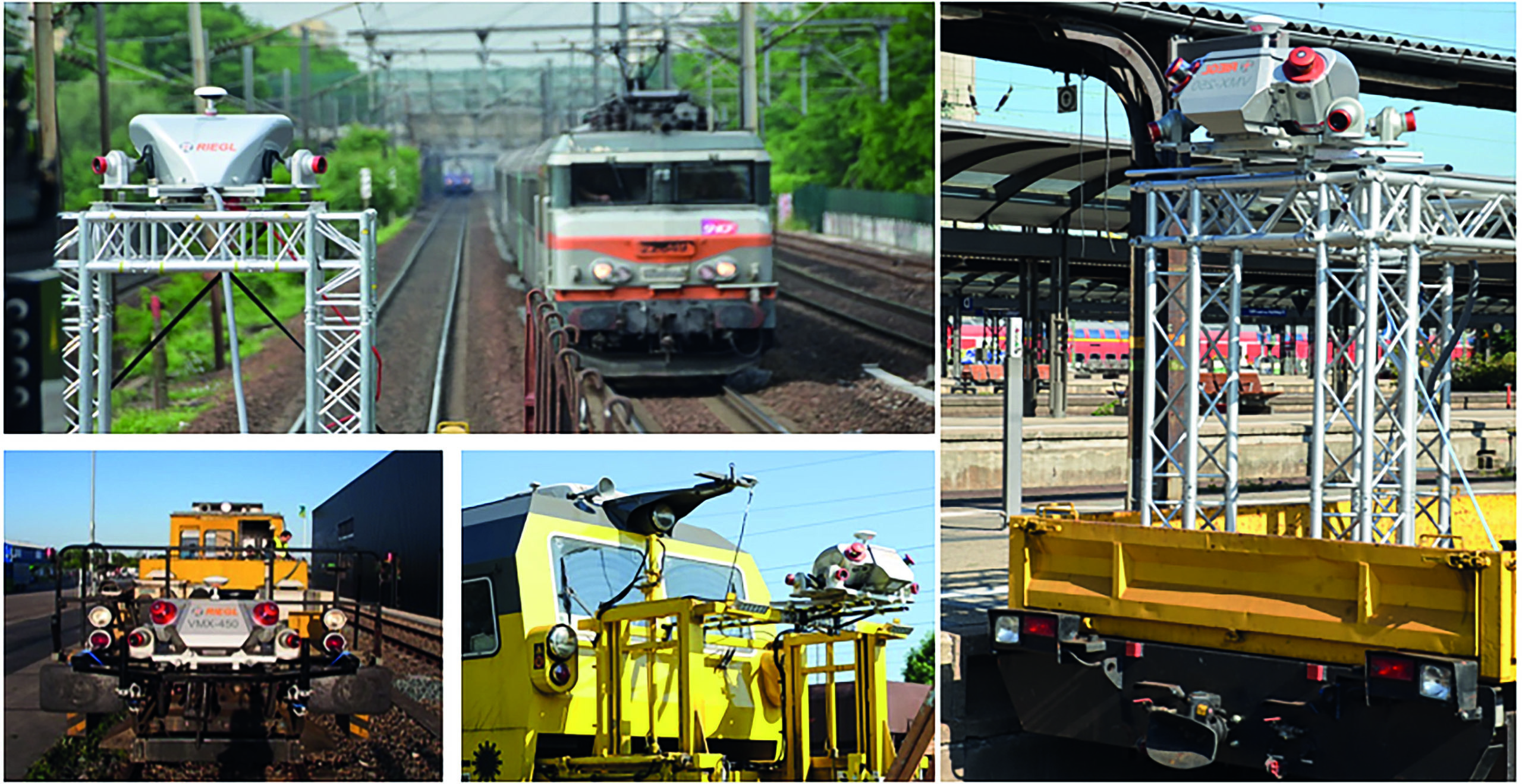 VMX-RAIL: Mobile Mapping Systems