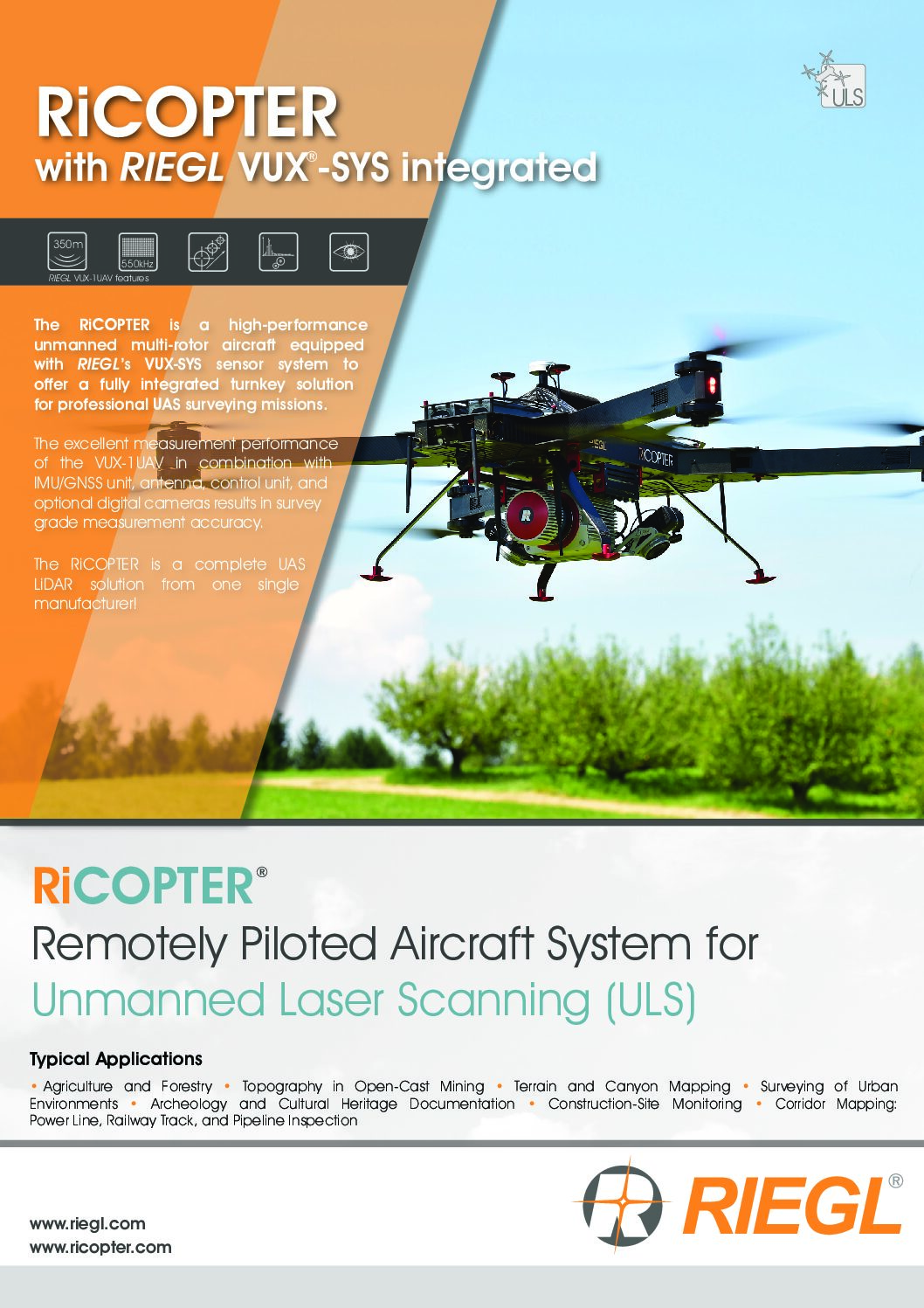 RiCOPTER with VUX-SYS Brochure