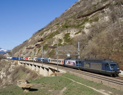 Rhine Valley Line Reopens Following Crash