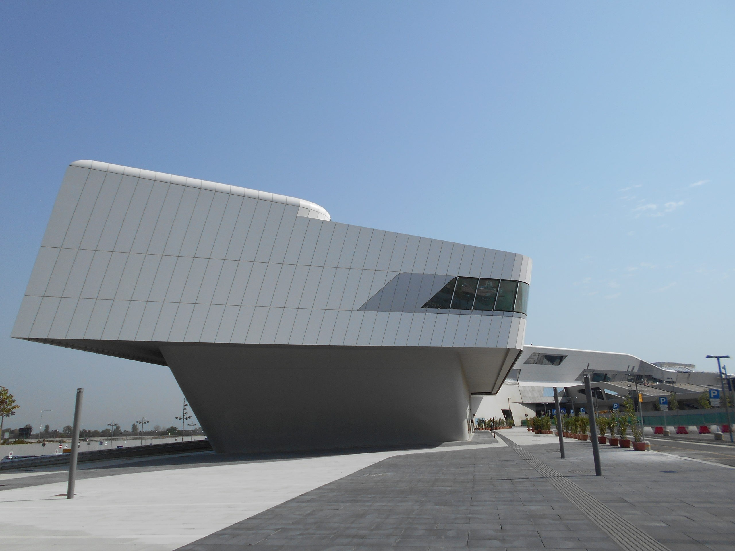 The new Naples-Afragola station, designed by Zaha Hadid