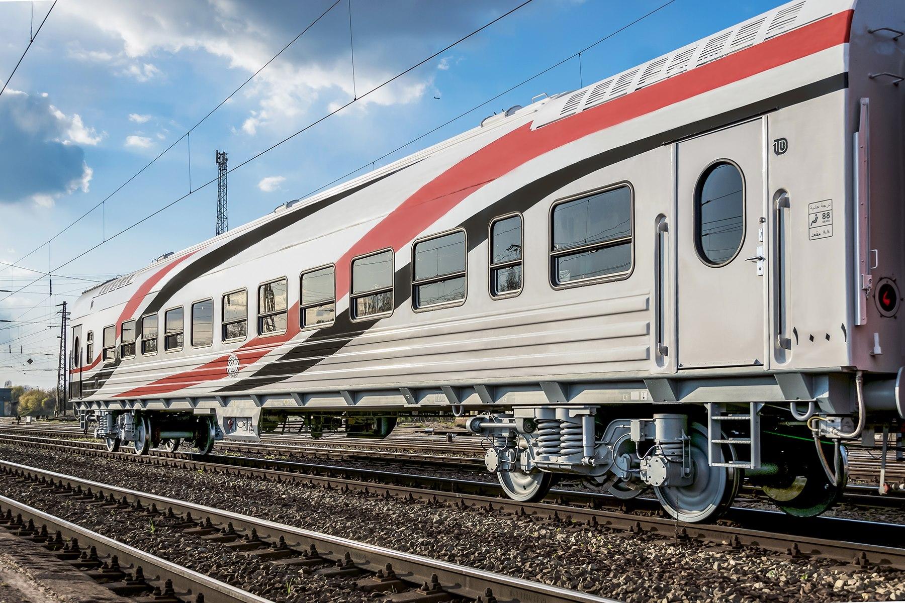 Transmashholding passenger car for Egypt