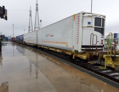Transfesa Logistics Launches Refrigerated Train to UK