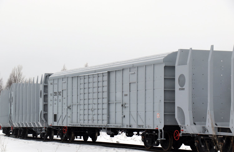 UWC box car for Azerbaijan