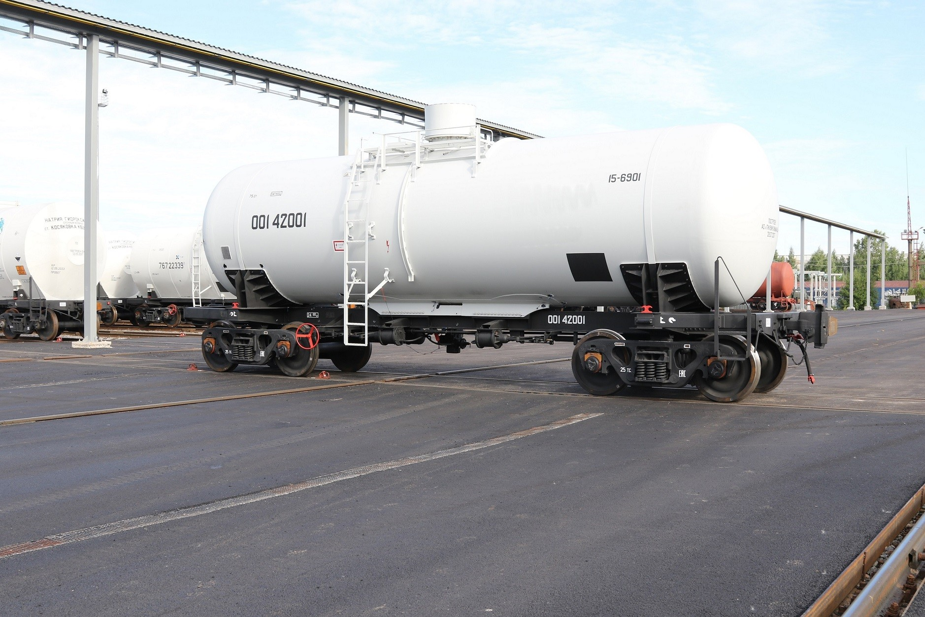 UWC tank car for EuroChem