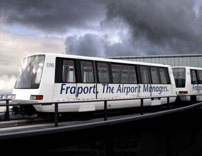 Bombardier Signs 10-Year Operations and Maintenance Contract for Fraport's APM
