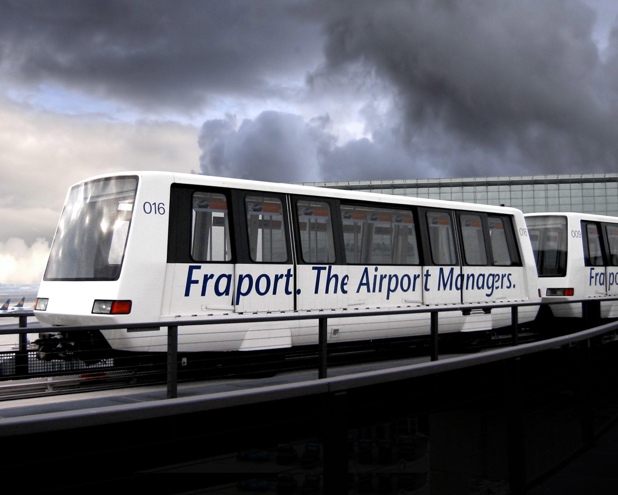 Bombardier INNOVIA 100 Automated People Mover Frankfurt Airport