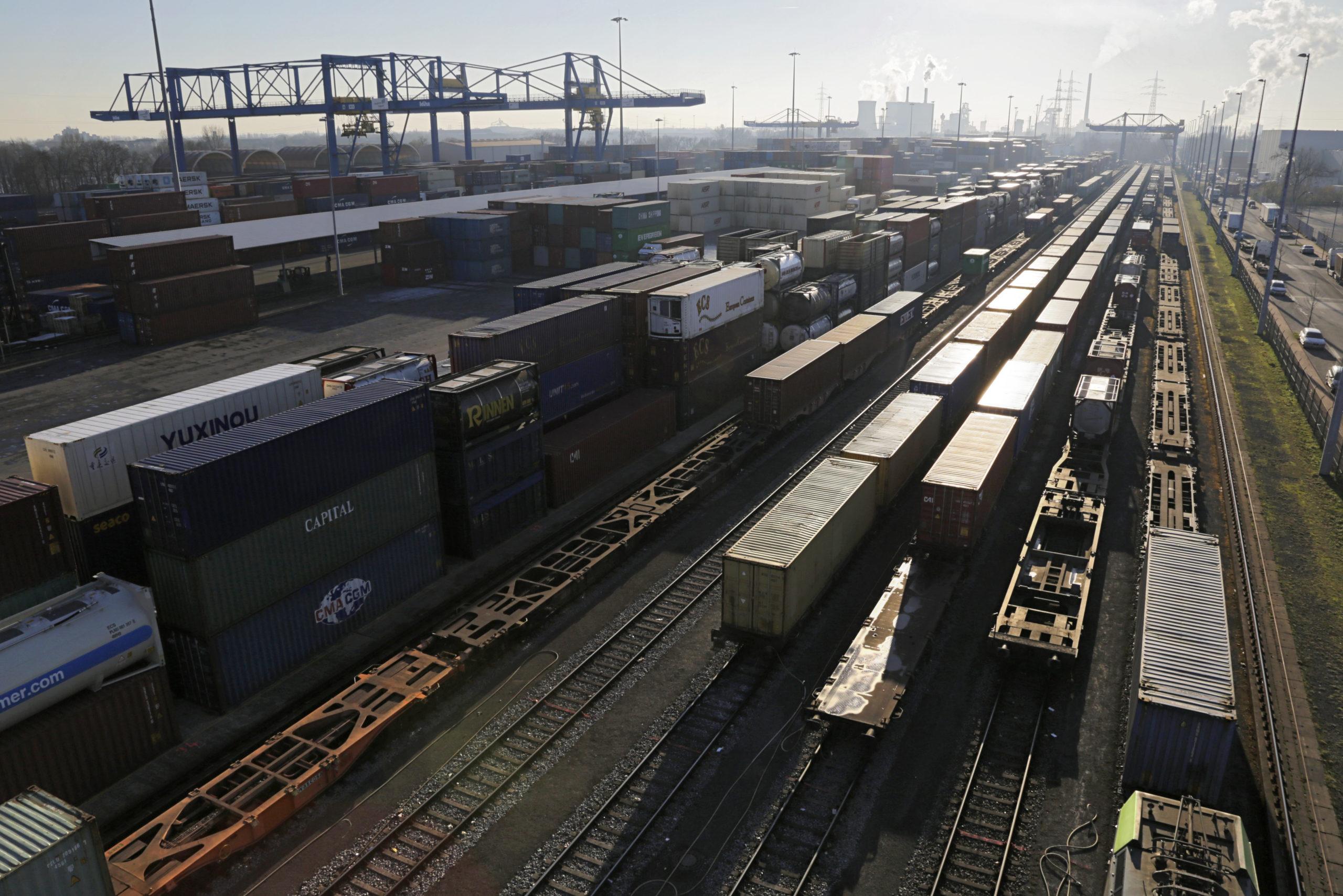 Duisport rail terminal