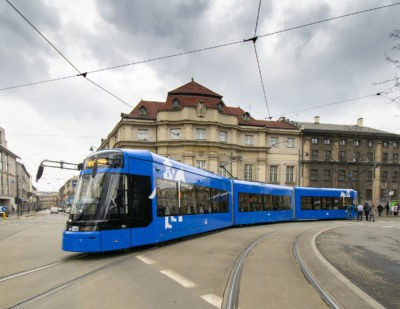 Stadler to Deliver Further Trams to Krakow