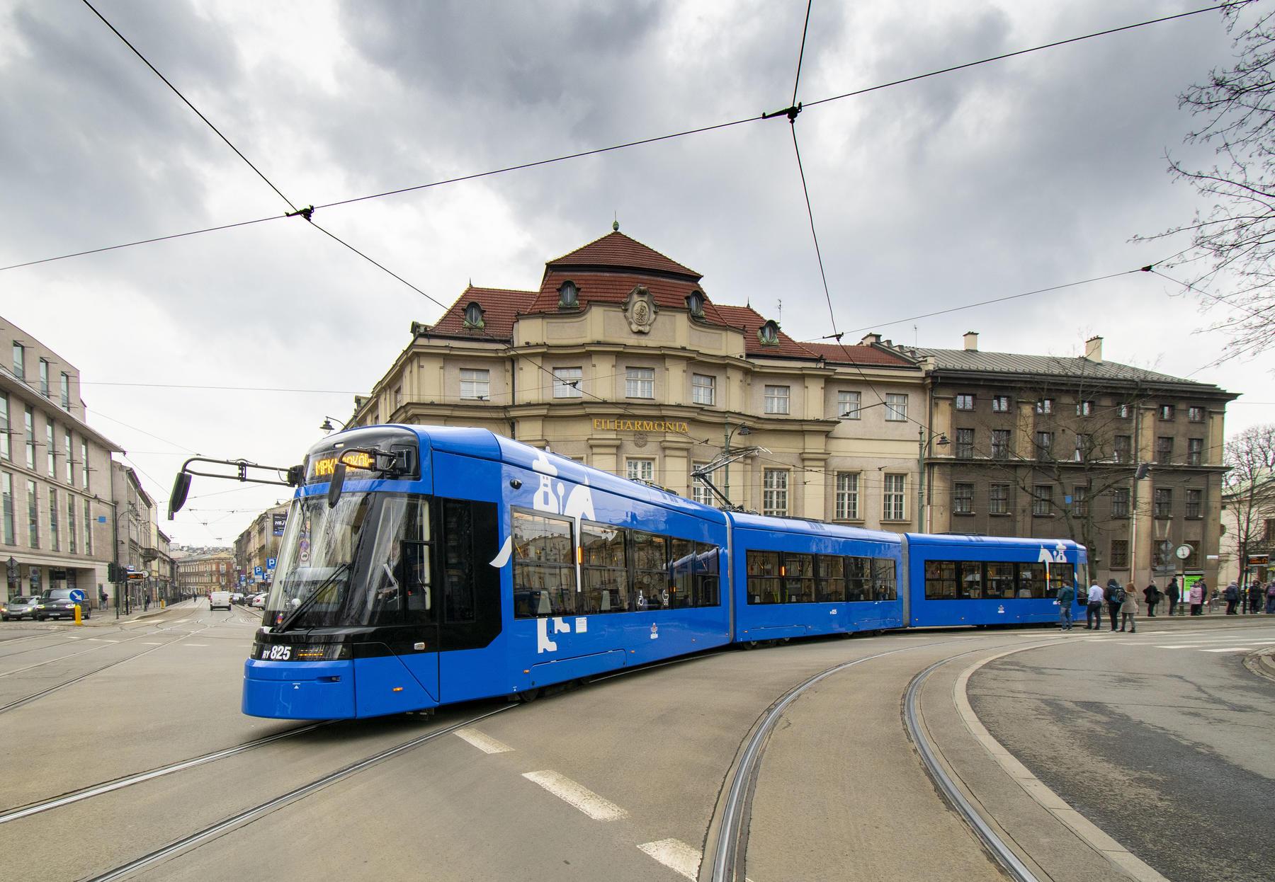 Stadler TANGO tram for Krakow