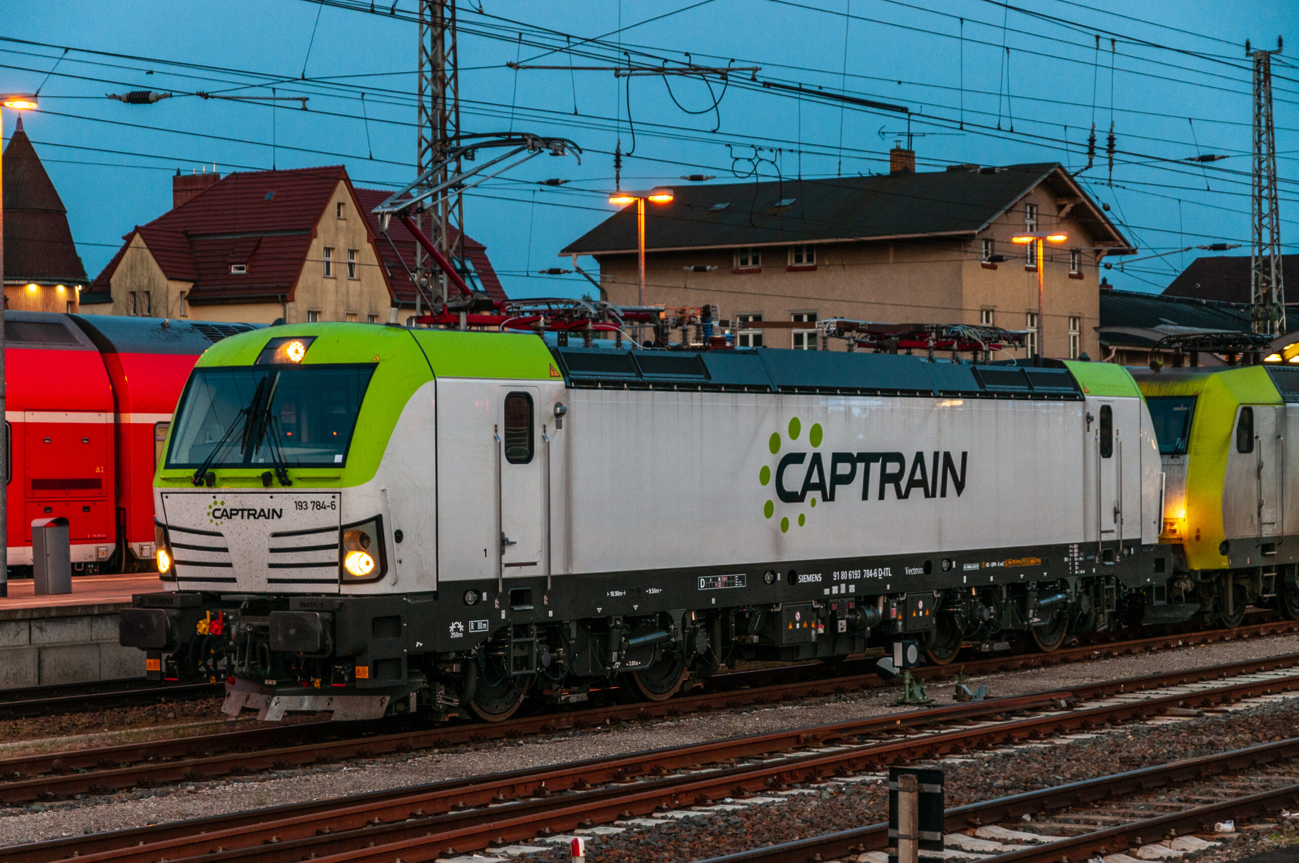 Private freight operator Captrain