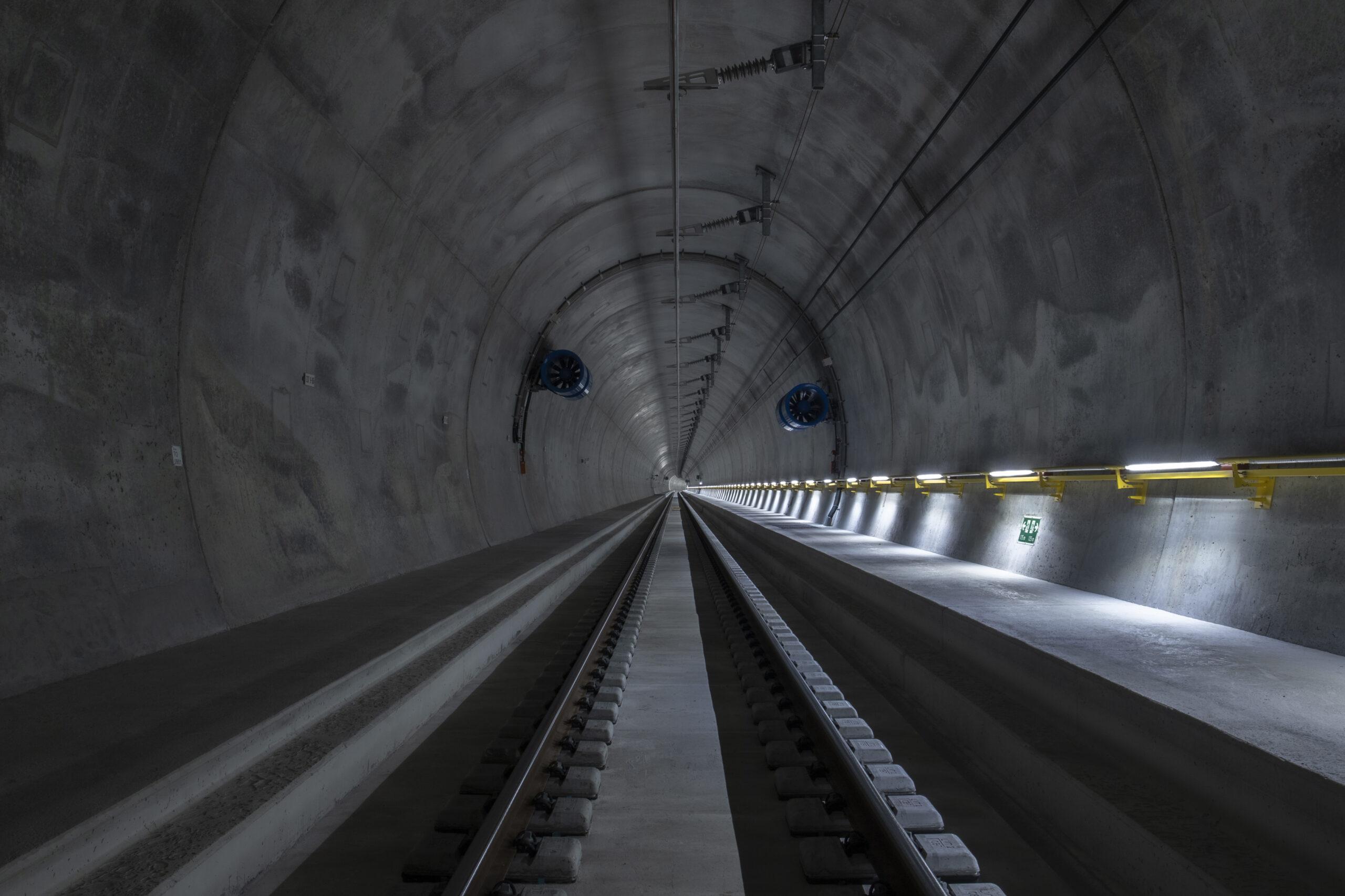 Ceneri Base Tunnel western pipe