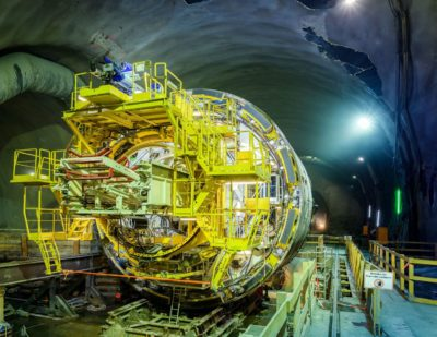 Semmering Base Tunnel Reaches Halfway Milestone