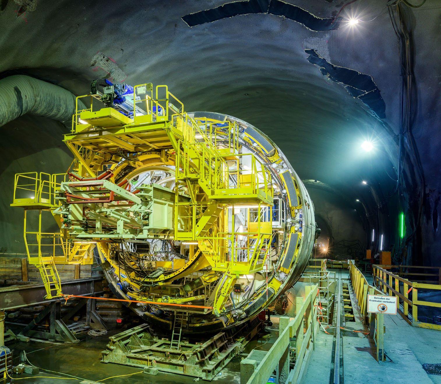 Semmering Base Tunnel TBM Ghega