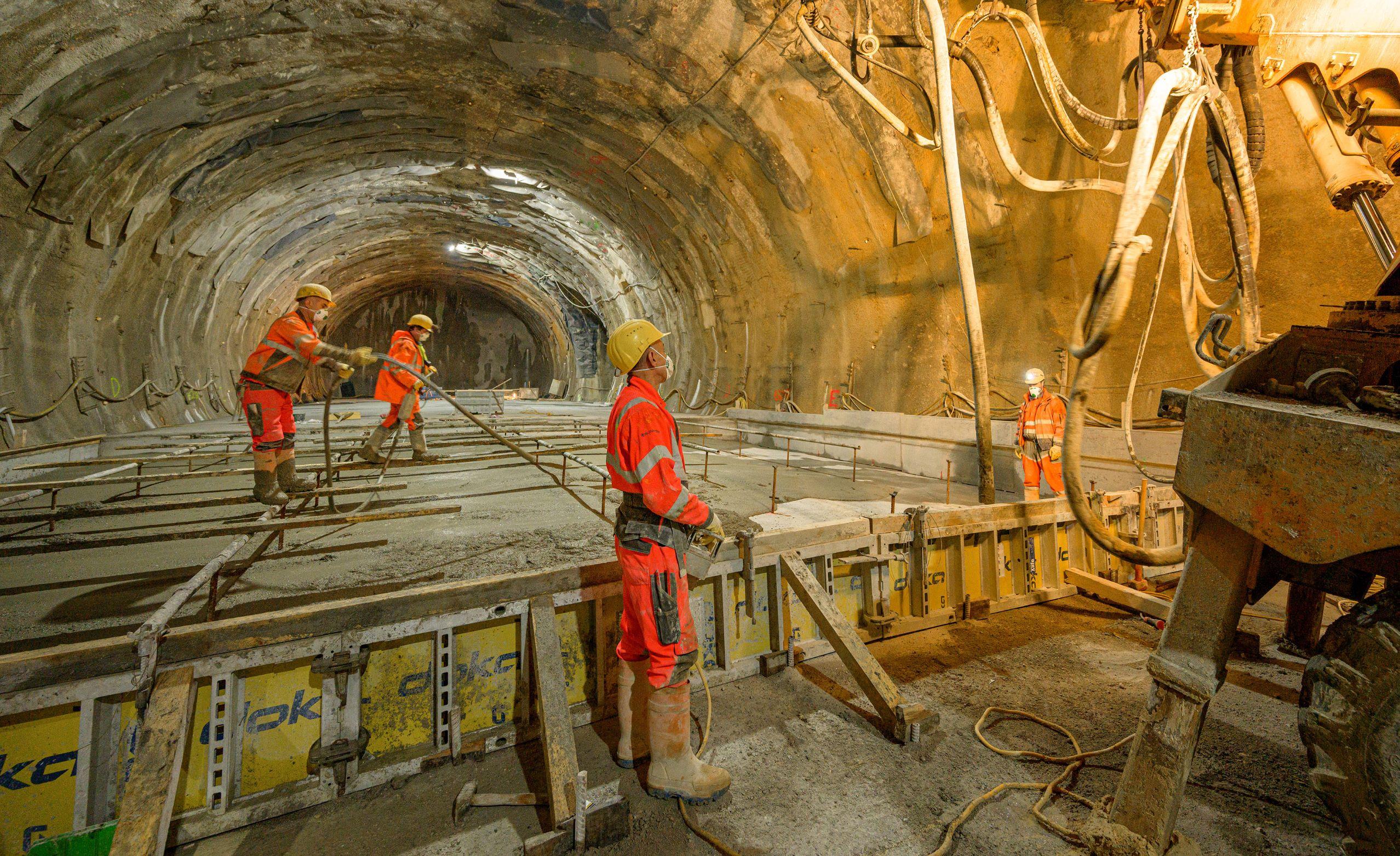 Semmering Base Tunnel at Göstritz