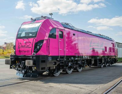 Newag Delivers First Dragon 2 Locomotive to Laude Smart Intermodal