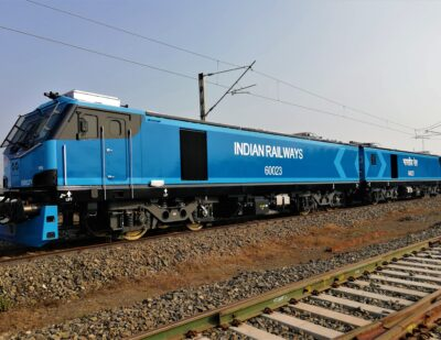 Indian Railways Puts First Alstom Prima T8 Locomotive into Service