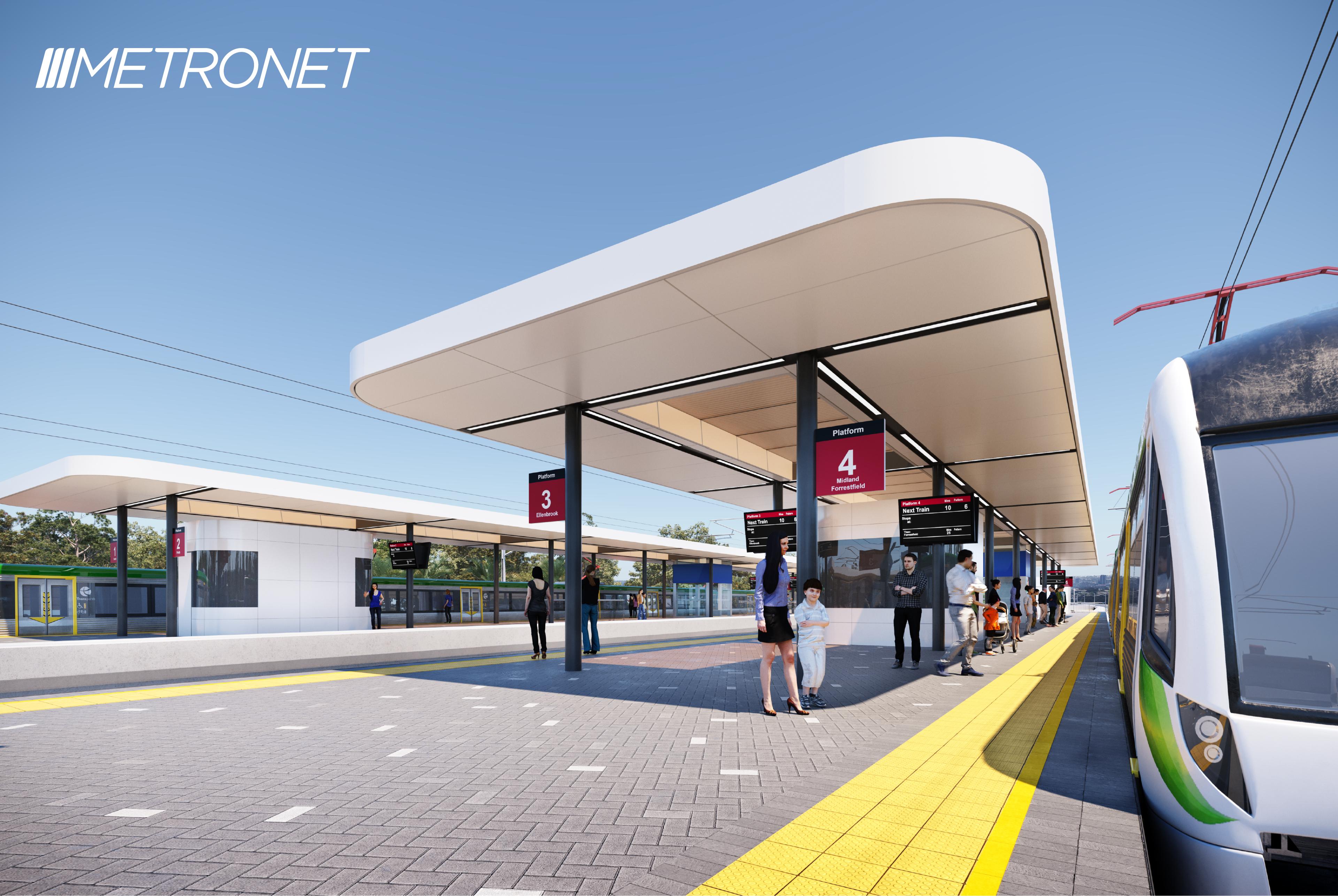 Metronet Bayswater station artist's impression