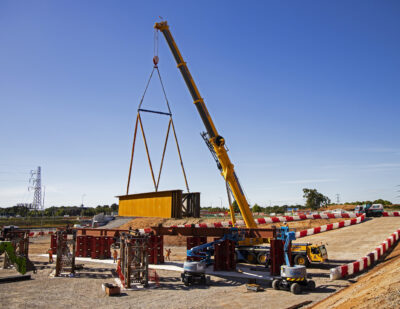 Steel Girders for HS2 Bridges Begin Delivery