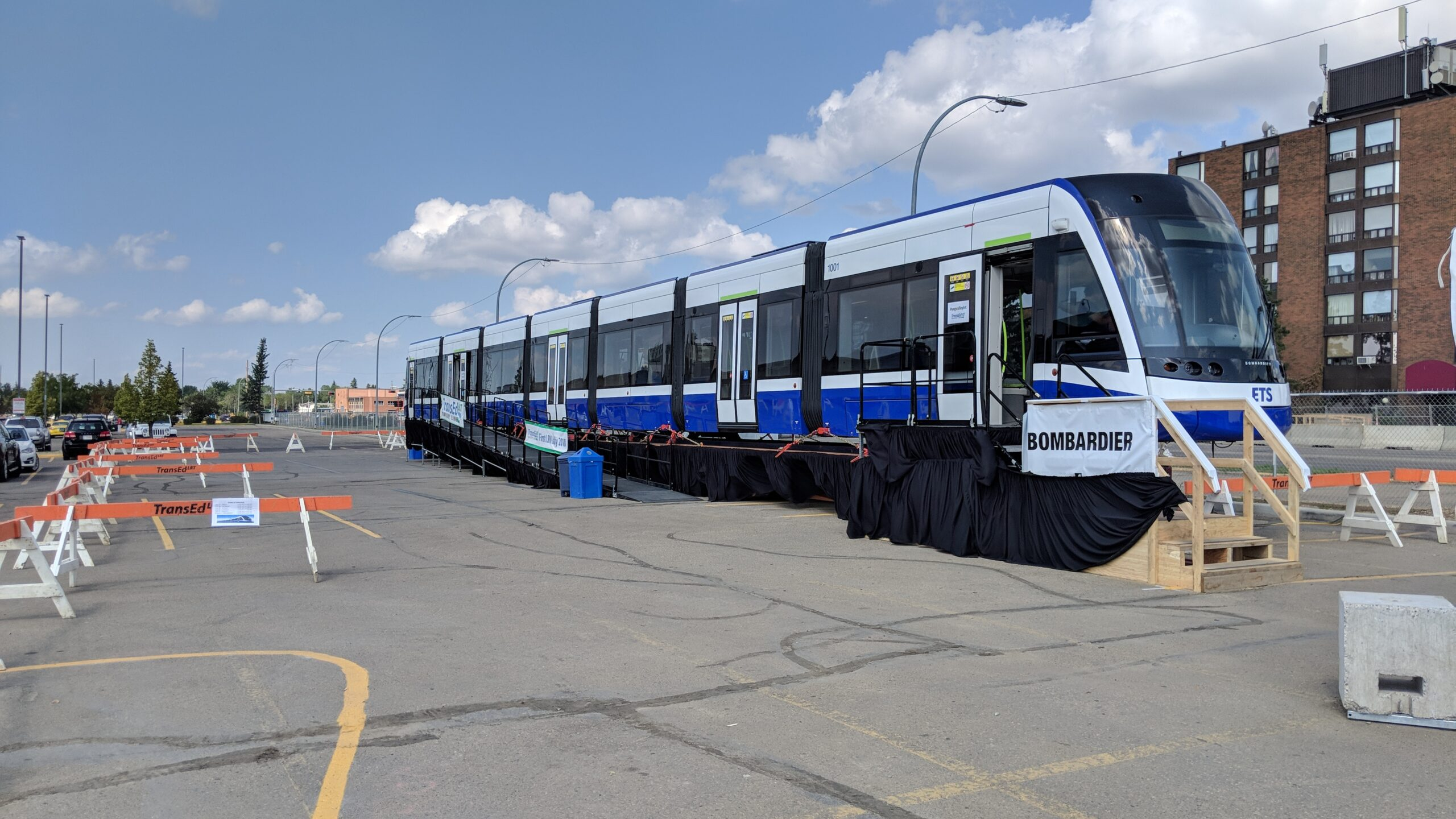 Rolling stock for the Valley Line is Bombardier Flexity Freedom