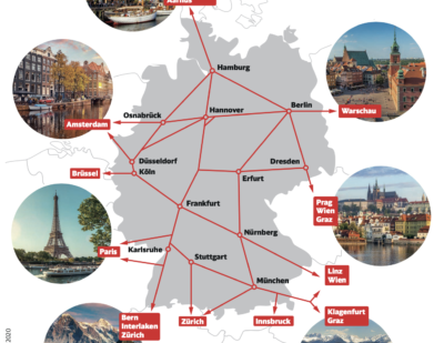 Deutsche Bahn to Resume Rail Services to All Neighbouring Countries as of June