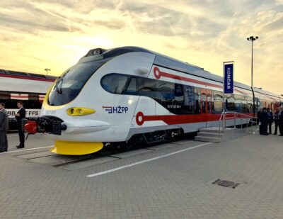 Croatian Railways and Koncar KEV Sign Delivery Contract