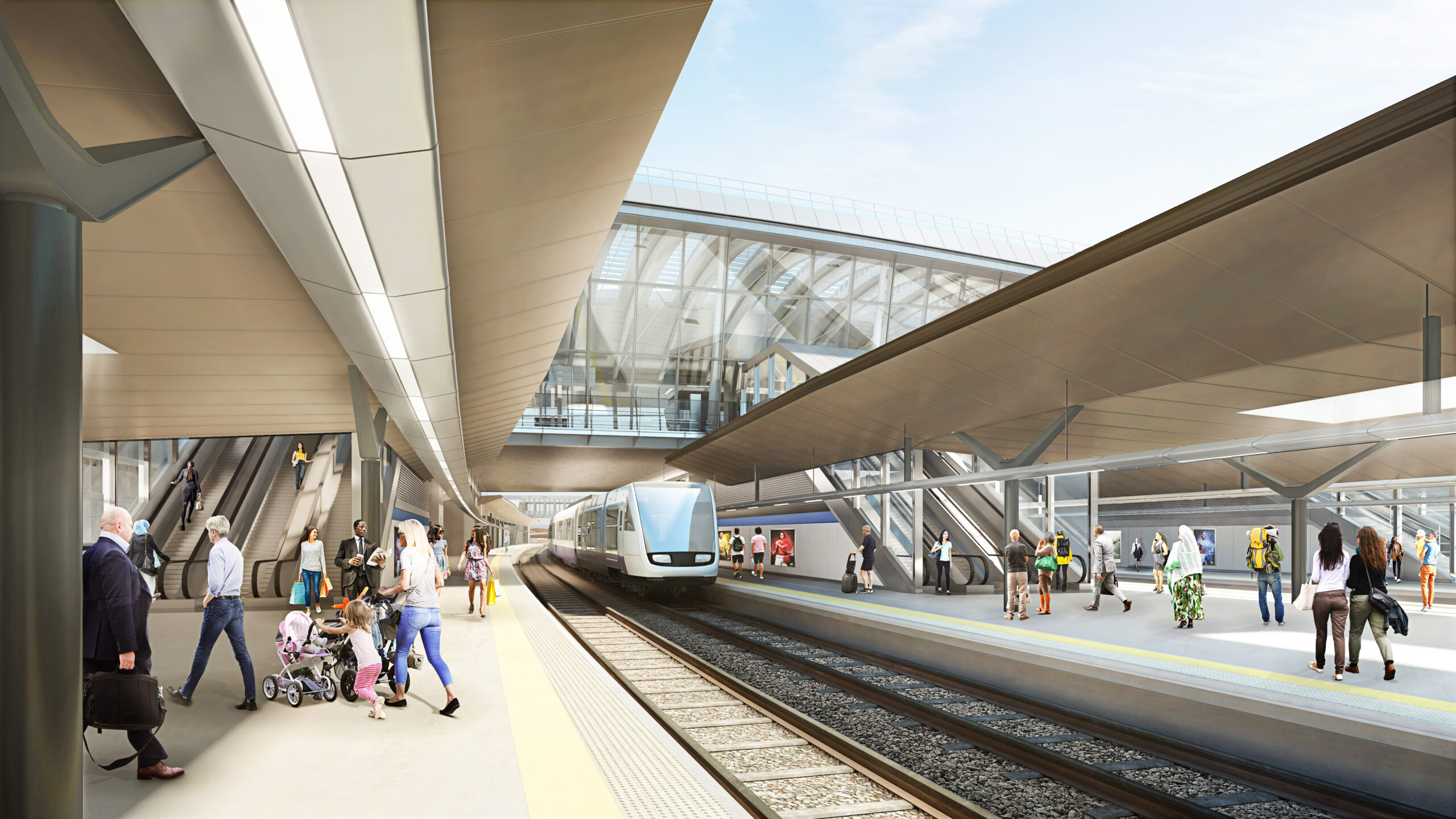CGI HS2 Old Oak Common conventional platforms