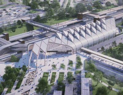 HS2 Interchange First Station in the World to Get Environmental 'Outstanding' Grade