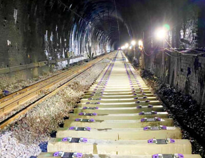 West Coast Main Line: Full Line Speed Restored in Kilsby Tunnel