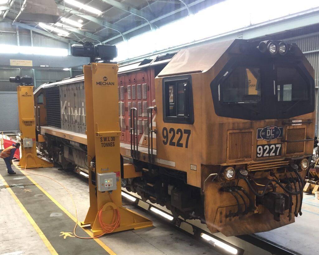Mechan Jacks KiwiRail New Zealand