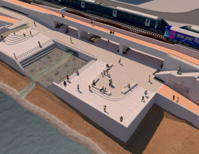 Network Rail Unveils Dawlish Sea Wall Plans