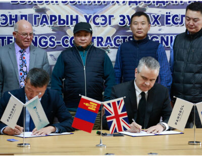 Pandrol Signs Long-Term Partnership Agreement in Mongolia
