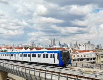 Blue Line Extension Opens on Bangkok Metro