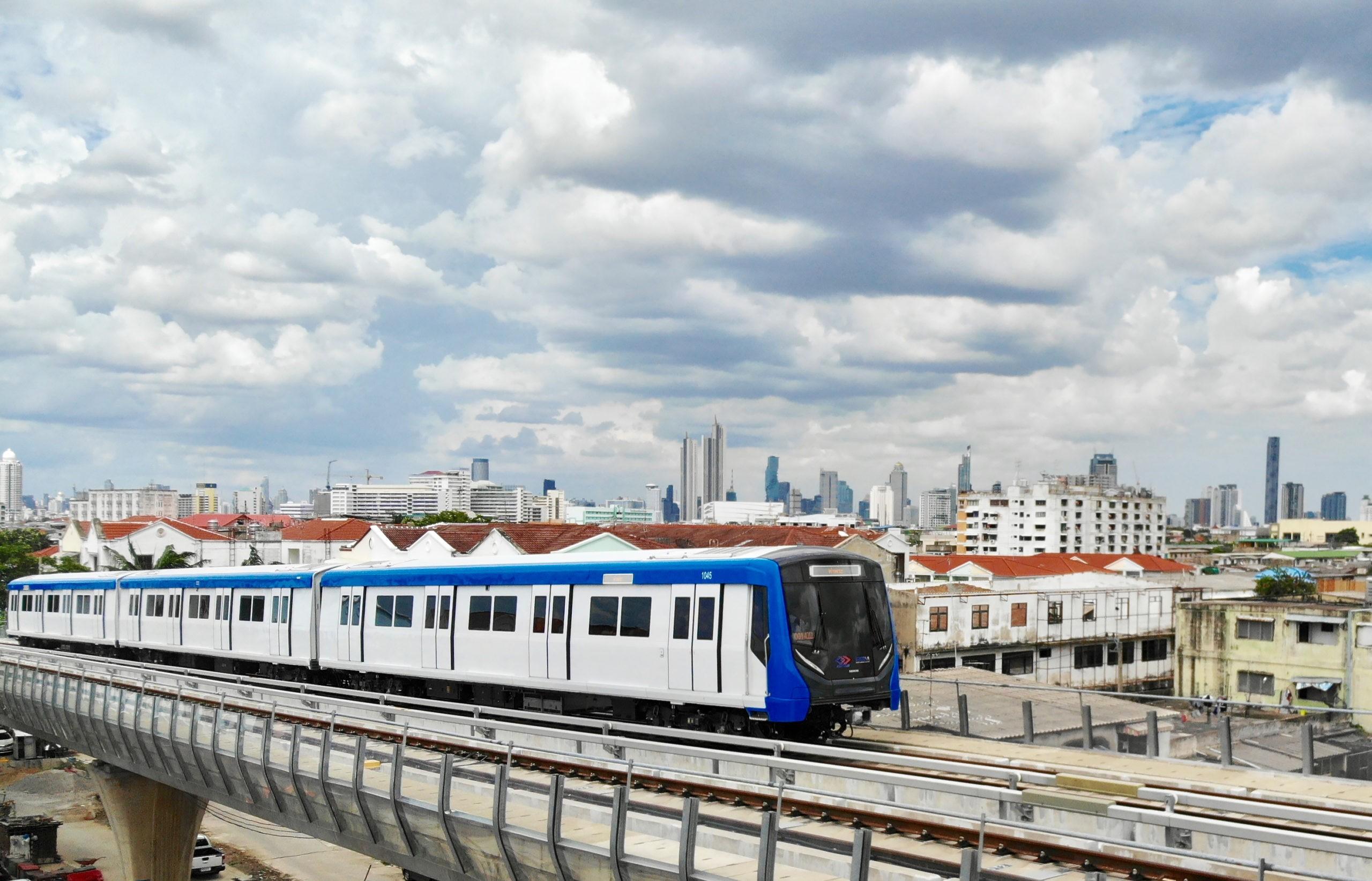 Siemens Inspiro for Bangkok Blue Line metro