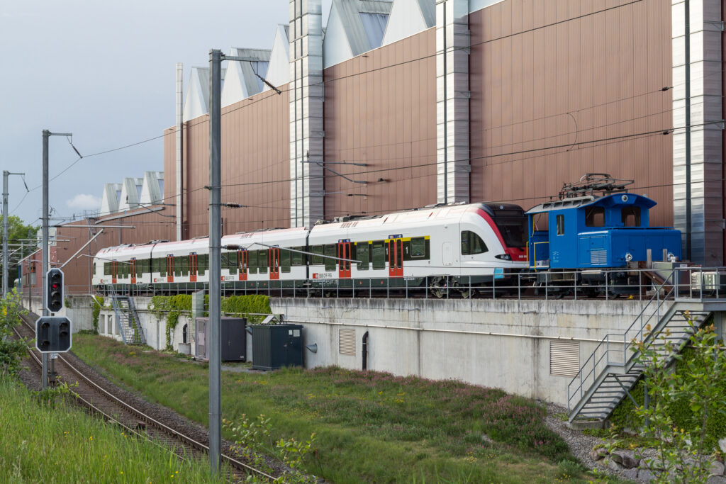 Stadler Rail headquarters in Bussnang, Switzerland