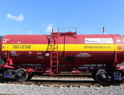 UWC Delivers Tank Car Order to Transport Logistics Systems