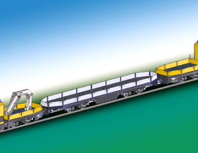 WINDHOFF to Deliver 3-Section Track Laying Train to VGF Frankfurt