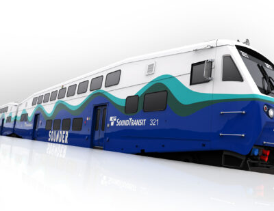 Bombardier to Supply 28 BiLevel Rail Cars for Seattle